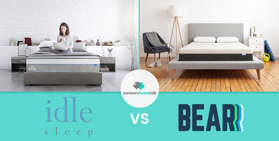IDLE Sleep Gel Plush vs. Bear