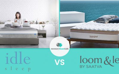 IDLE Sleep Gel Plush vs. Loom and Leaf