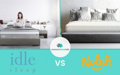 IDLE Sleep Gel Plush vs. Nolah Original