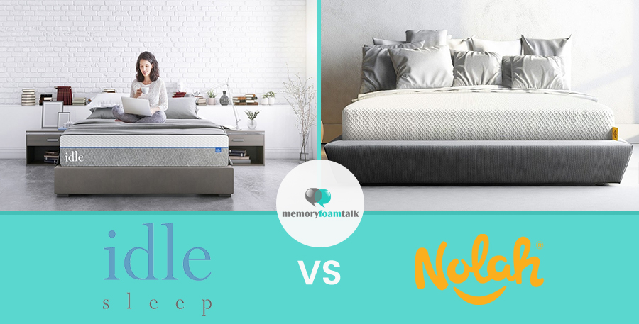 IDLE Sleep Gel Plush vs. Nolah Original