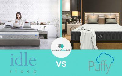 IDLE Sleep Gel Plush vs. Puffy
