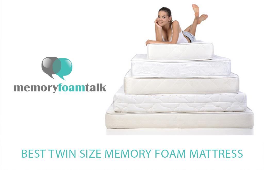 Best Twin Size Memory Foam Mattress