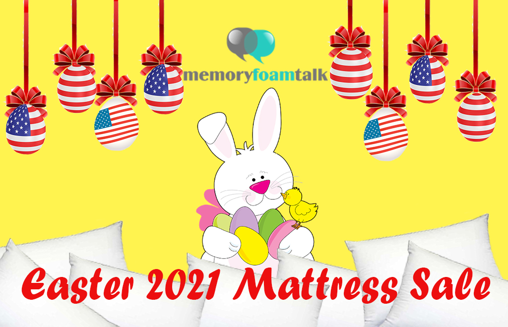 Easter Mattress Sale and Discount Coupons 2021