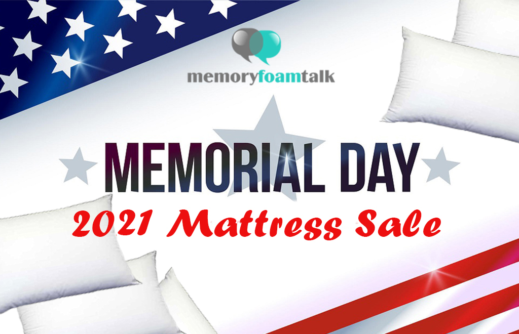 Memorial Day Mattress Sale and Discount Coupons 2021