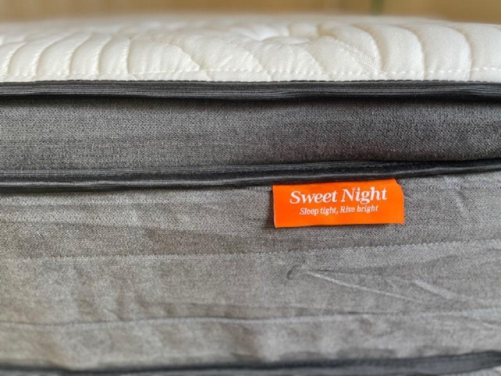 Sweet Night Twilight mattress - profile view