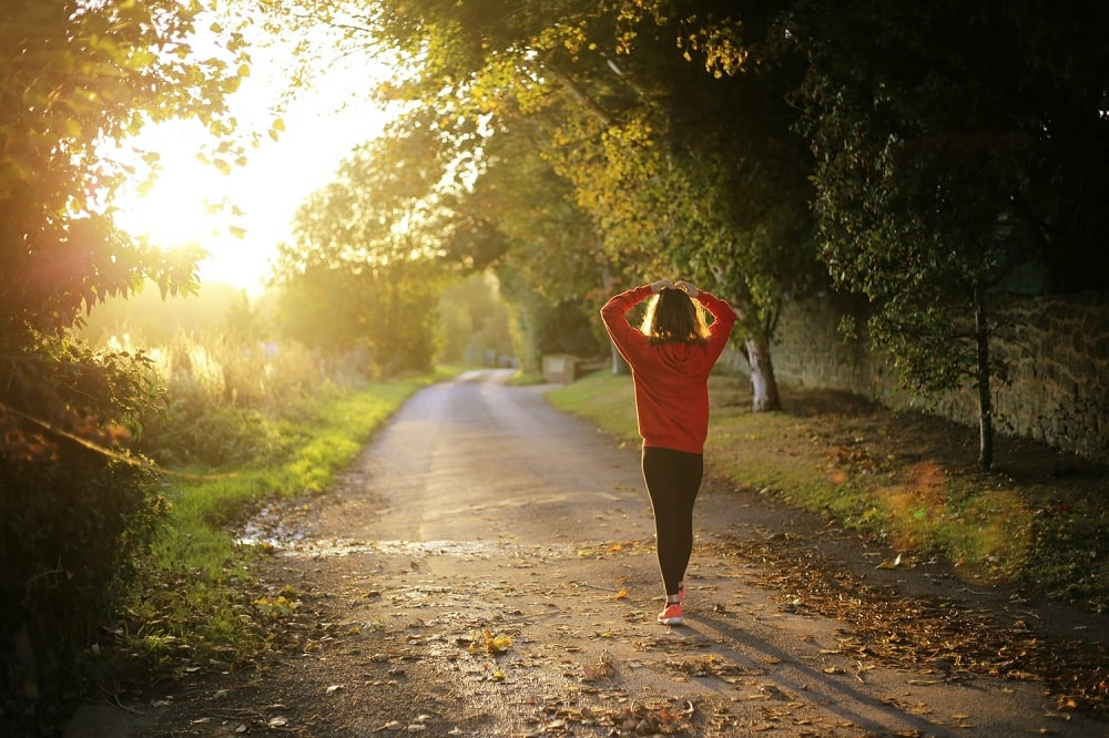 exercising during the day for better sleep at night